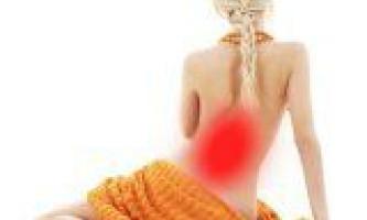 Болі в спині і хребті у людини