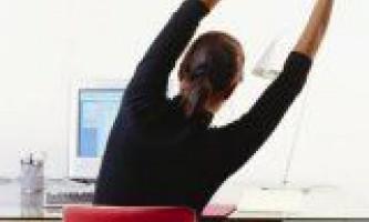 Як врятувати хребет на сидячій роботі