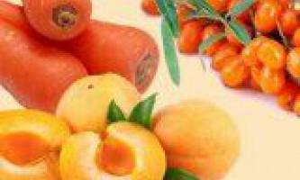 Які фрукти чи овочі допомагають для зору
