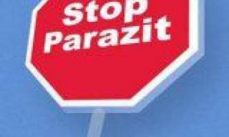 Лікування паразитів народними засобами