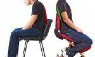 Порушення постави при сидячих професіях