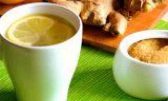Корисні властивості напоїв з імбиру