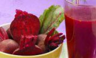 Користь бурякового соку для організму