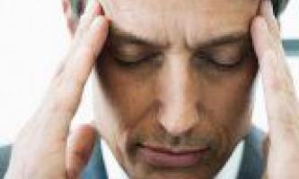 Причини больових відчуттів в скронях