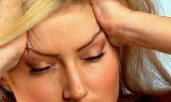 Причини постійного головного болю
