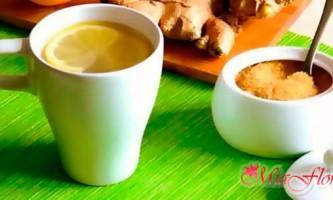 Рецепт імбирного напою для для схуднення