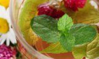 Рецепти трав`яних вітамінних чаїв