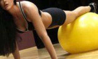 Вправи на фітбол для м`язів людини