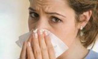 Запалення слизової задніх відділів носа