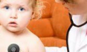 Захворювання бронхів у маленьких дітей